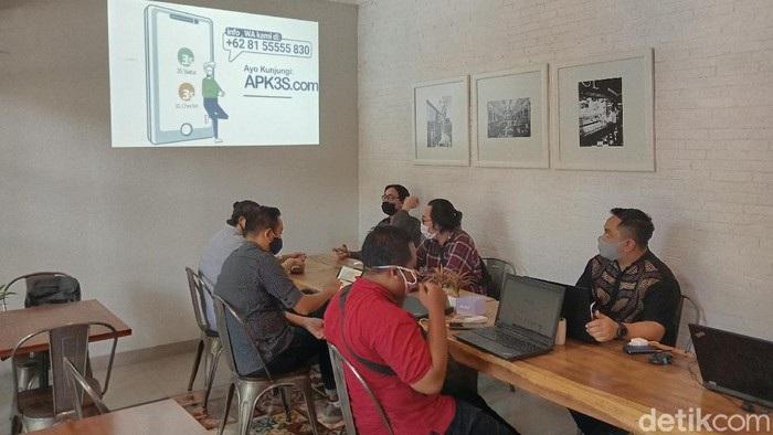 Alumni ITS Surabaya Luncurkan Aplikasi Tracing Covid-19