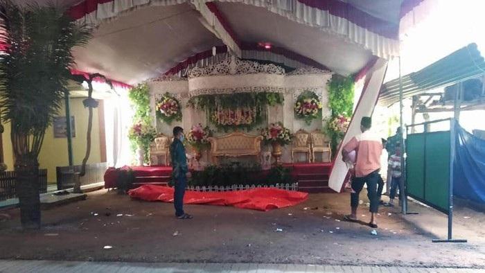 Abaikan Protokol Kesehatan, Hajatan Pernikahan di Trenggalek Dibubarkan