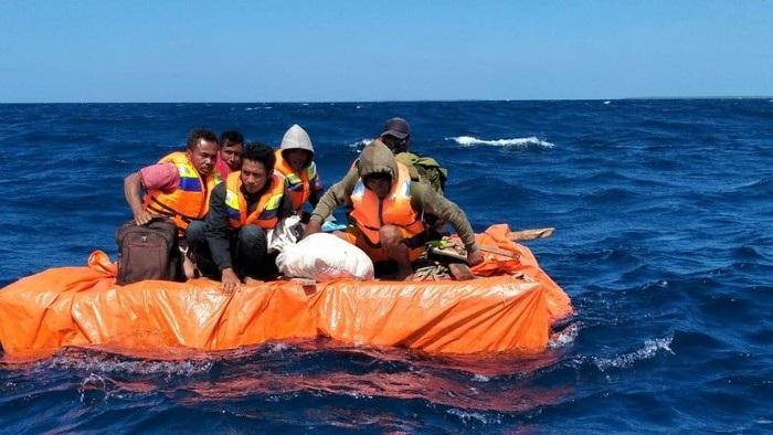 Alhamdulillah Selamat, 6 ABK Terombang-ambing 2 Hari di Laut