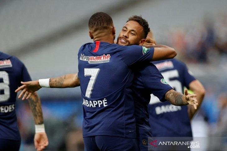 PSG Juarai Piala Prancis Berkat Gol Tunggal Neymar