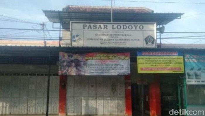 Pasar Lodoyo Blitar Ditutup, Ada Tiga Pedagang Positif Covid-19