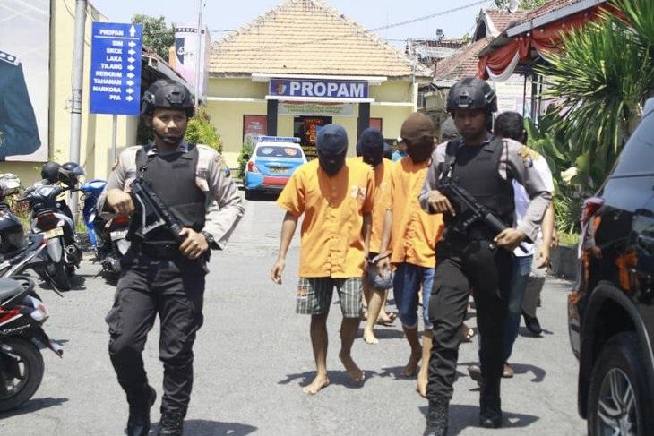 Polres Ngawi Tangkap 30 Tersangka Kasus Kriminal