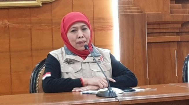 Gubernur Jatim Khofifah Tegaskan Tak Ada Keluarganya Maju Pilkada