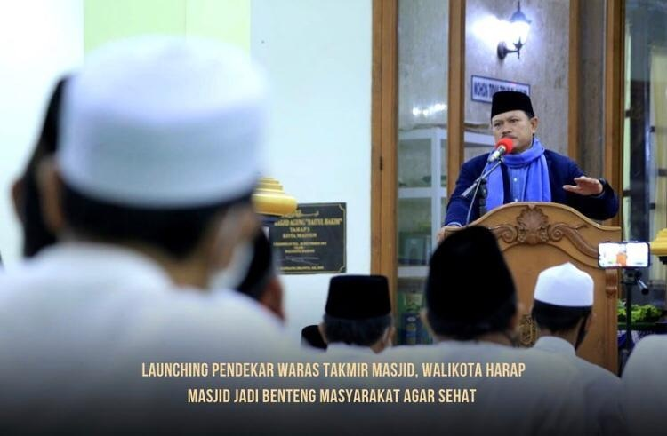 Launching Pendekar Waras Takmir Masjid, Benteng Masyarakat Agar Sehat