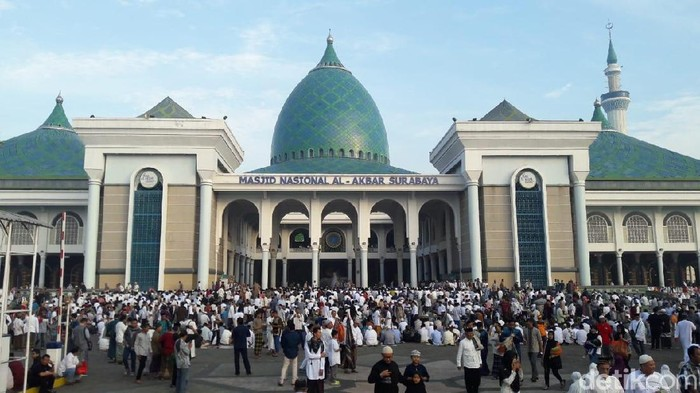Pengumuman, Salat Iduladha di Masjid Al Akbar Surabaya Wajib Daftar Dulu