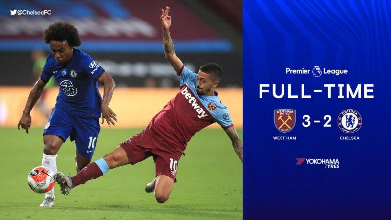 West Ham Akhiri Laju Tak Terkalahkan Chelsea, Lampard Klaim Masih Aman