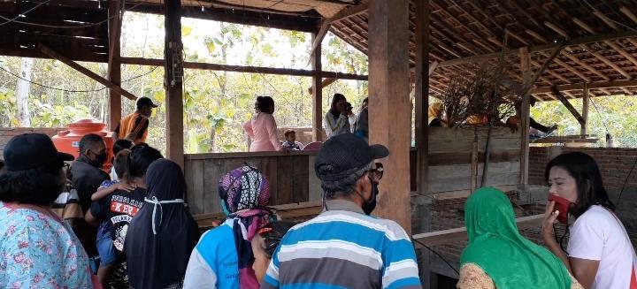 Penasaran! Ratusan Orang Setiap Hari Berkunjung ke Rumah Giman di Ngawi