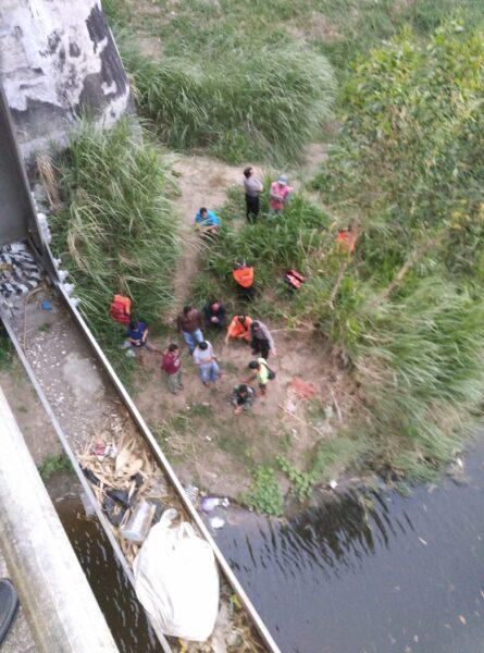 Sesosok Perempuan Misterius Bunuh Diri dengan Terjun di Sungai Madiun