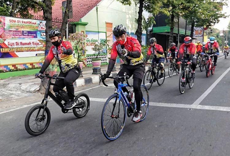 Ini Sepeda Unik Pilihan Wali Kota Madiun untuk Gowes