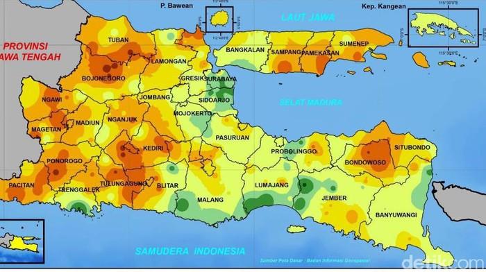 Suhu Beberapa Wilayah di Jatim Lebih Dingin, Ternyata Ini Penyebabnya