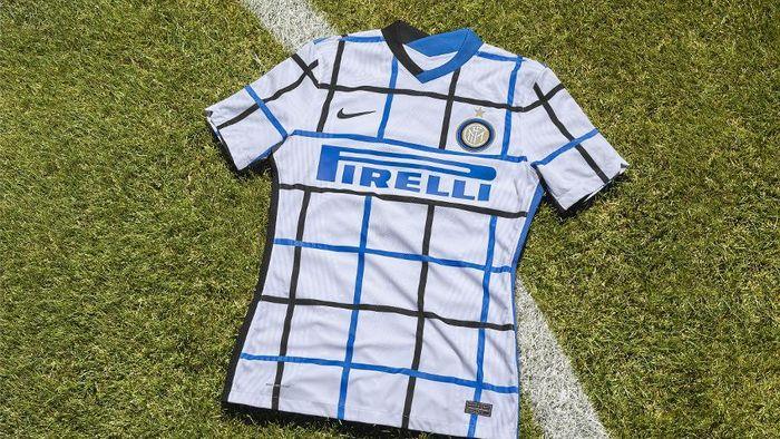 Inter Milan Luncurkan Jersey Tandang Anyar, Dibilang Mirip Taplak Meja