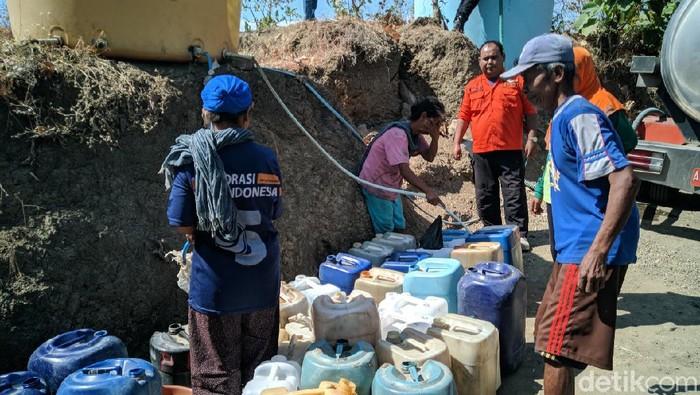 Kekeringan Mulai Melanda Dua Desa di Ponorogo