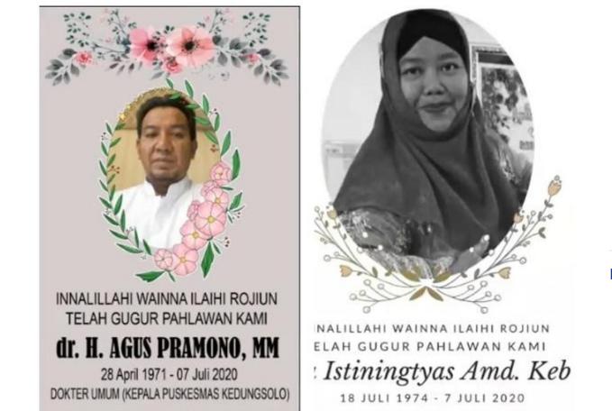 Sidoarjo Kehilangan Dua Tenaga Kesehatan Dalam Sehari Akibat Corona