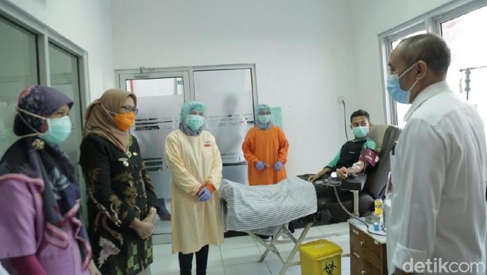 Akhirnya Ada Pasien Sembuh dari Covid-19 di Lumajang yang Mendonor Darah Untuk Terapi Plasma