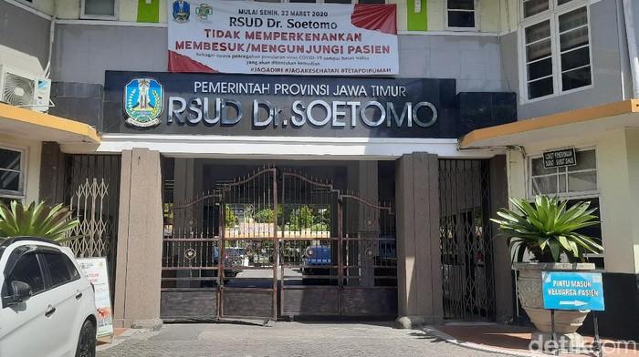 Tenaga Kesehatan RSUD dr Soetomo Surabaya Meninggal karena Covid-19