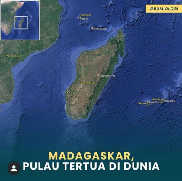 Madagaskar Pulau Tertua di Dunia. Penghuni Pertamanya Masyarakat Nusantara