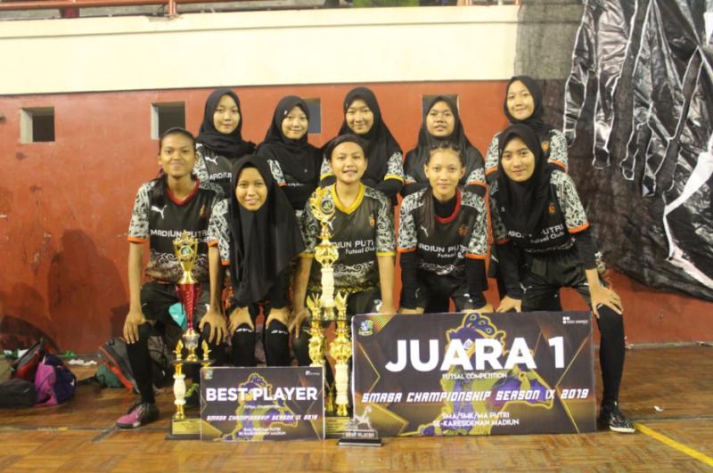 Madiun Putri Futsal Club, Tim Futsal Kebanggaan Madiun