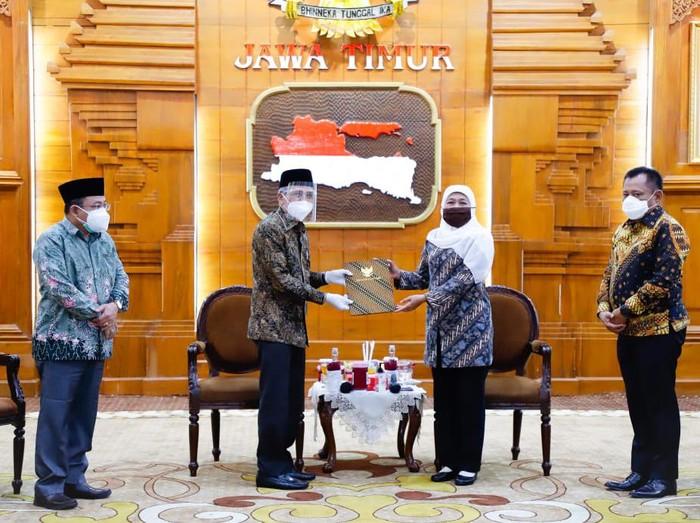 Gubernur Tunjuk Sekda Achmad Zaini jadi Plh Bupati Sidoarjo