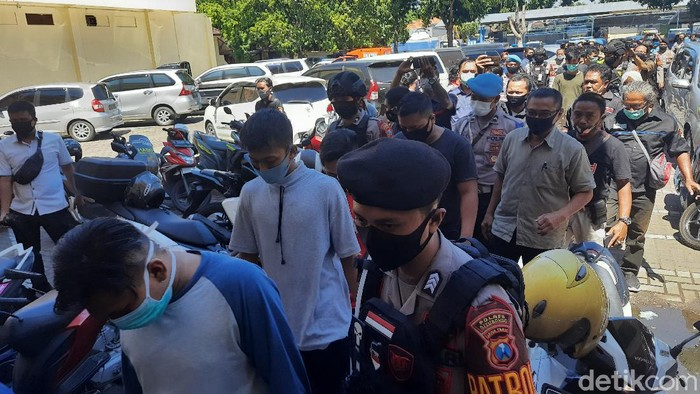 Kerusuhan Di Situbondo, Polda Jatim Tangkap 80 Anggota PSHT, 45 Jadi Tersangka