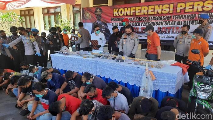 Sudah 97 Anggota PSHT Situbondo Ditangkap, Polda Jatim Kerahkan 85 Penyidik