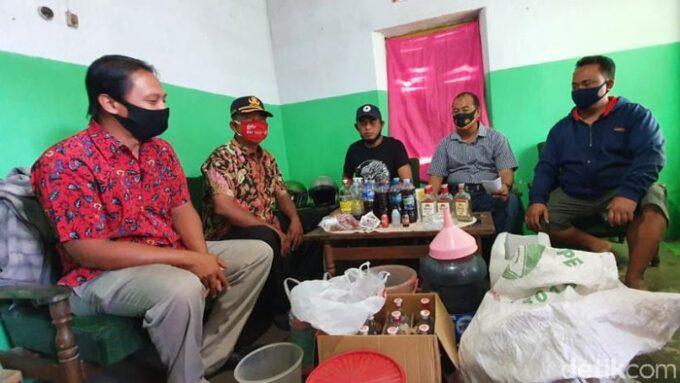 Pesta Miras Oplosan, 4 Warga Kediri Tewas secara Beruntun