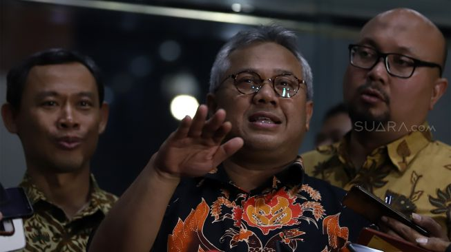 Ketua KPU Arief Budiman Positif Covid-19 Jelang Bertemu Jokowi