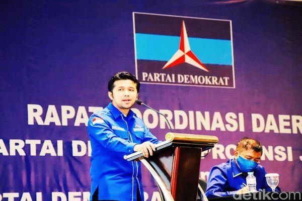 AHY Tunjuk Wagub Jatim Emil Dardak Jadi Plt Ketua Partai Demokrat Jatim