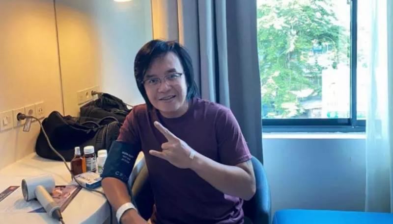 Beberapa Hari Dirawat di RS, Ari Lasso Mengaku Kini Bisa Mandiri