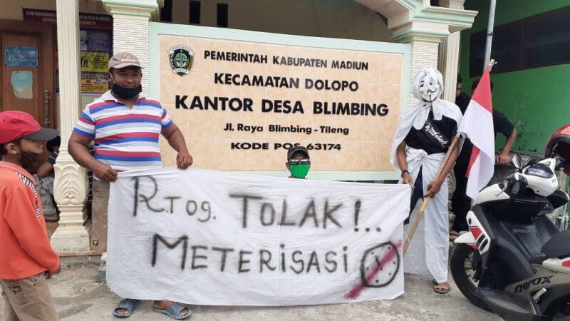 Terkait Kisruh Pembangunan Jaringan Air di Desa Blimbing, Pemkab Madiun Anggap Masyarakat Salah Paham