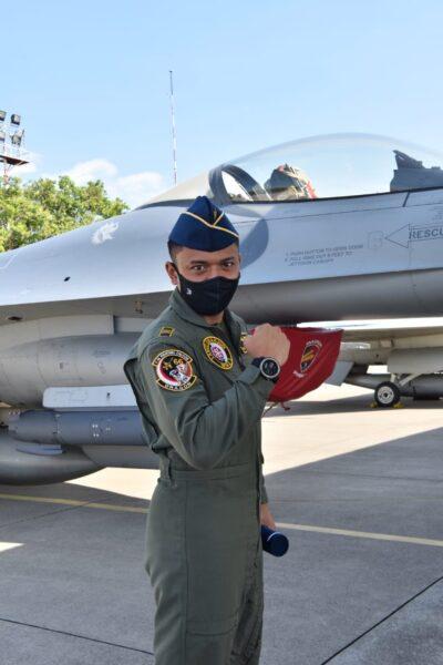 Lulus Pendidikan Transisi, TNI AU Miliki Penerbang Pesawat Tempur F-16 ke-66