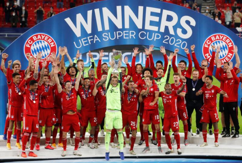 Juarai Piala Super Eropa, Statistik Bayern Munich 1 Trofi per 9 Laga, Luar Biasa!