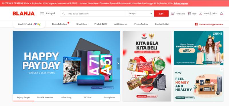 Telkomsel Tutup Blanja.Com, Pelanggan Diimbau Tarik Saldo dari Dompet Blanja