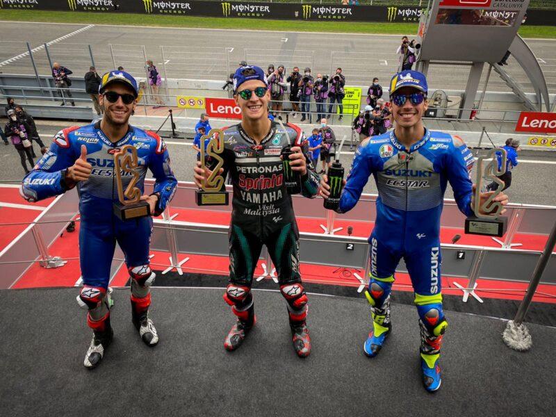 Fabio Quartararo Juarai MotoGP Catalunya, Rossi dan Dovozioso Crash