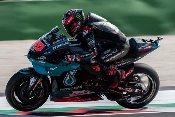 Fabio Quartararo Melesat di Free Practice 1 MotoGP Catalunya