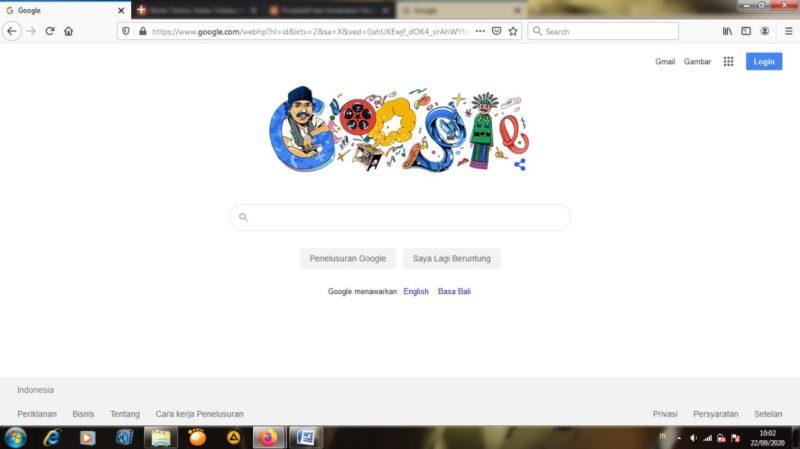 Sosok Seniman Betawi di Google Doodle Hari Ini, Siapakah Dia?