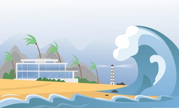 ITB Peringatkan Potensi Tsunami 12 Meter, Ini 8 Daerah Di Jatim Yang Rawan Terkena