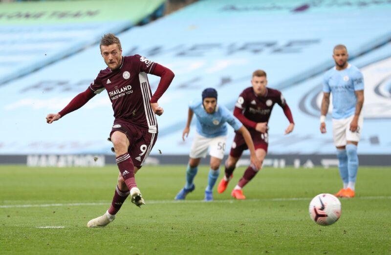 Rahasia Jamie Vardy Bawa Leicester City Bantai Manchester City 5-2,Tahu Cara Dapat Penalti