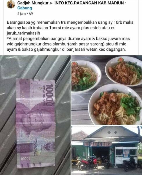 Tak Kalah Dari Odading Mang Oleh, Strategi Marketing Penjual Mi Ayam di Madiun Ini Jadi Sorotan