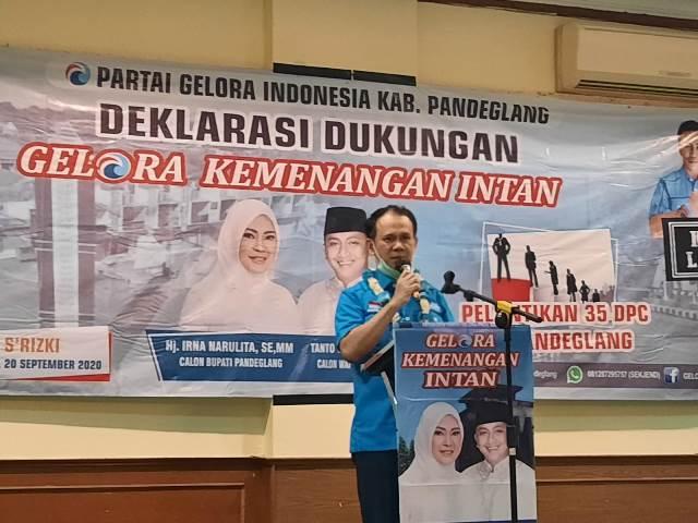 Demi Kemajuan Pembangunan Daerah, Mahfuz: Partai Gelora Siap Berkolaborasi di Pilkada 2020