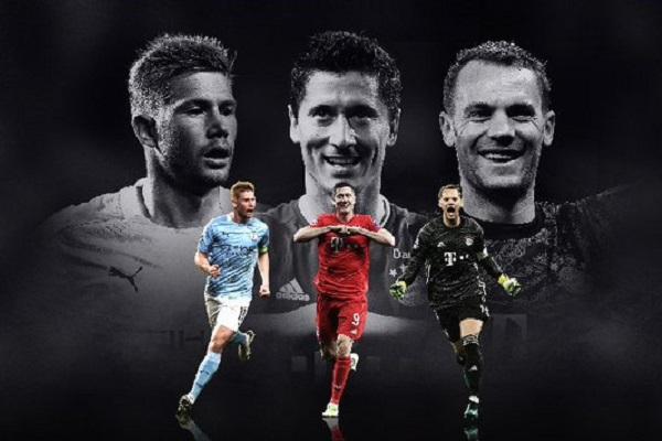 Tiga Nominasi Pemain Terbaik Eropa 2019-2020 Tak Ada Messi ataupun Ronaldo