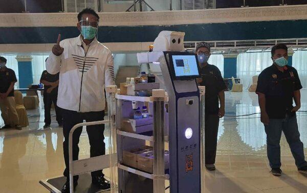 Wow, Robot KECE Buatan Unesa Punya Fitur Terapi Musik untuk Pasien Covid-19