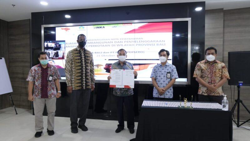 Inka Garap Sarana Transportasi Bertenaga Listrik di Bali