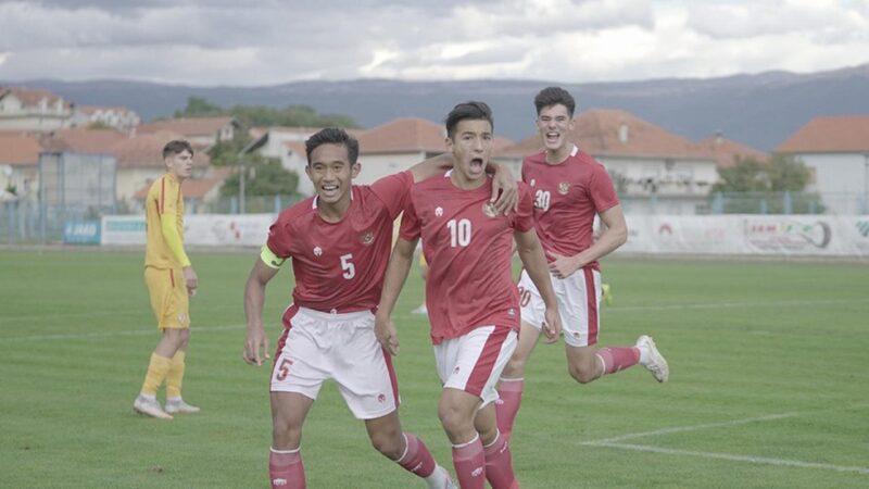 Hajar Makedonia Utara 4-1, Timnas Indonesia U-19 Dipuji Berani