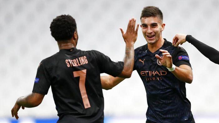 Marseille 0-3 Man City: Buah Eskperimen Guardiola Mainkan Penyerang Dadakan