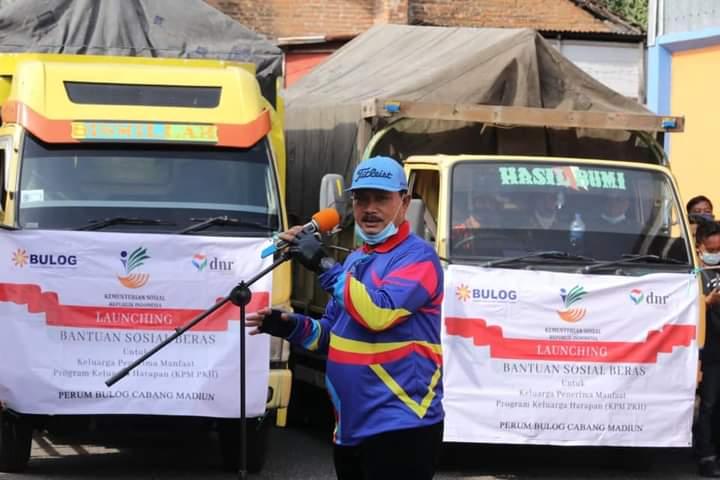2.819 Keluarga di Madiun Dapat Bantuan Beras 126 Ton, Wali Kota : Jangan Dijual!
