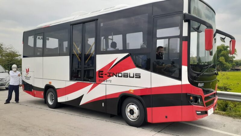 Negara Ini Menjadi Pemesan Pertama Bus Listrik Buatan Inka