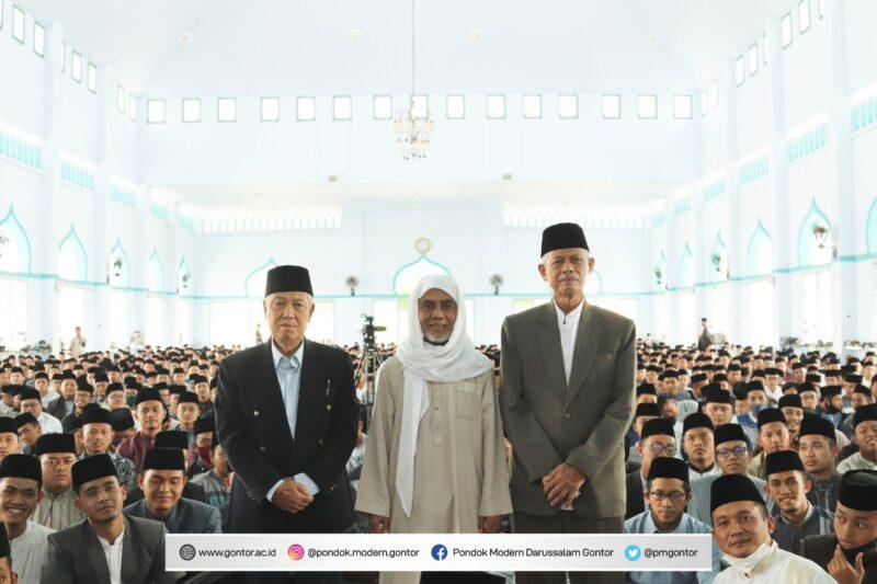 Tiga Kiai Dilantik Jadi Pimpinan Pondok Gontor Periode 2020-2025