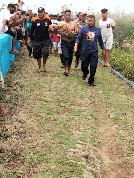 Bocah 10 Tahun Ditemukan Tak Bernyawa di Waduk Dawuhan Madiun