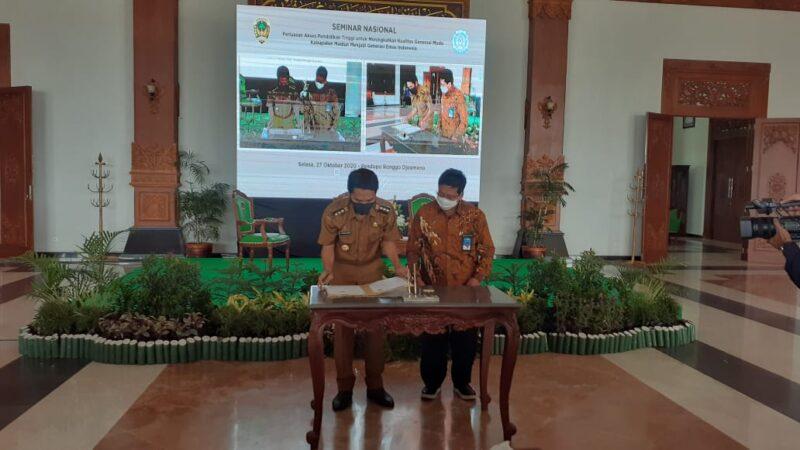 Pemkab Madiun Hibahkan 3,5 Hektare untuk Pengembangan Kampus UNS