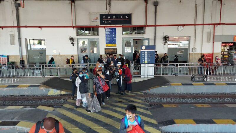 Libur Panjang, Penumpang KA di Madiun Naik 83%